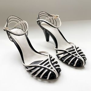 Like NEW! Fioni strappy heels size 7